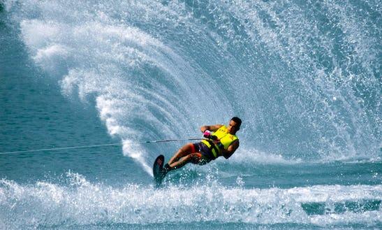 Fantastic Water Skiing Adventure In Bali, Indonesia