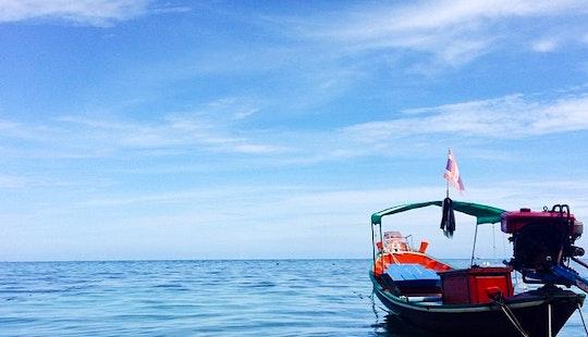 Motor Yacht  In  Ko Tao Thailand