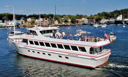 Whale Watching Tour In Boothbay Harbor