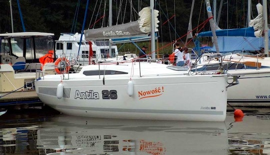 Unique Sailing Experience Aboard The Antila 26 Sailing Charter In Poland