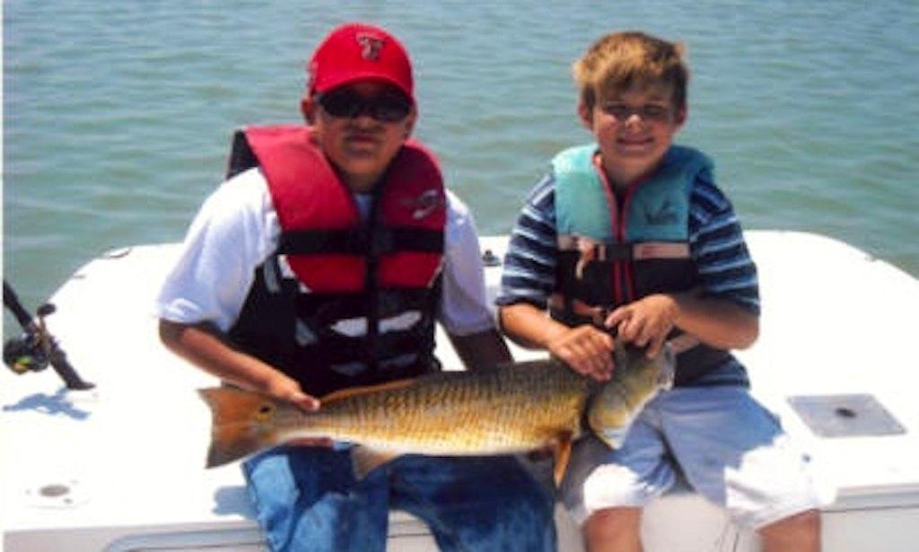 17 39 carolina skiff in rockport texas getmyboat for Rockport fishing guides