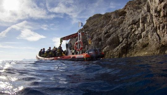Dive Boat At Skualo Porto Cristo