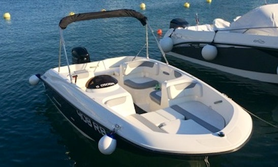 16' Deck Boat Rental And Tours In Rab, Croatia
