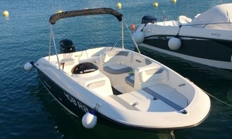 16' Deck Boat Rental and Tours in Rab, Croatia
