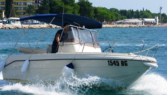 Flyer 22 Sun Deck Boat Rental In Zagreb