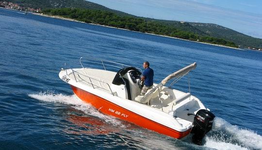 Hm Fly 22 Sun Deck Boat Rental In Zagreb