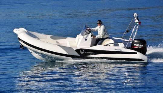 Zar Mako 58 Powerboat Rental In Zagreb