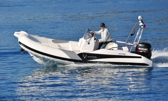 Zar Mako 58 Powerboat Rental In Zagreb