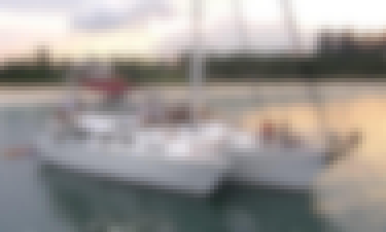 "Charter the 90ft ""Long Ranger"" Sailing Catamaran in Singapore"