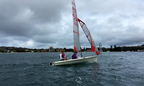 Adult Learn To Sail Lessons In Rose Bay