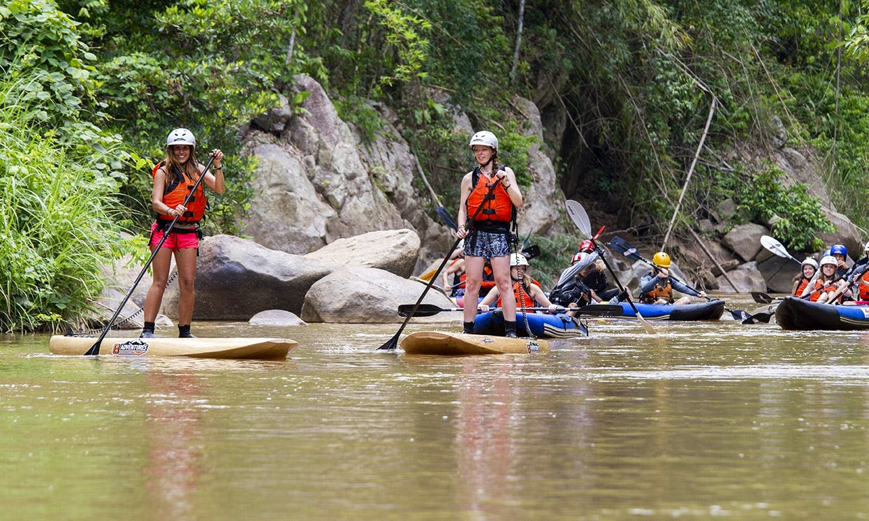 Stand Up Paddleboarding In Chiang Mai