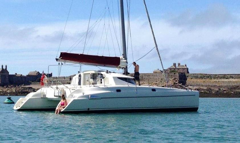 38' Fountaine Pajot Catamaran In Jersey