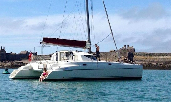 38' Fountaine Pajot Catamaran In Jersey
