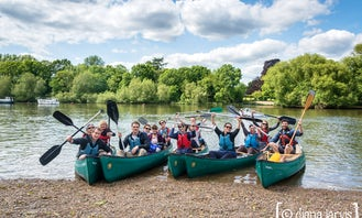 Lunch at The Anglers Canoe Trip - Richmond, London