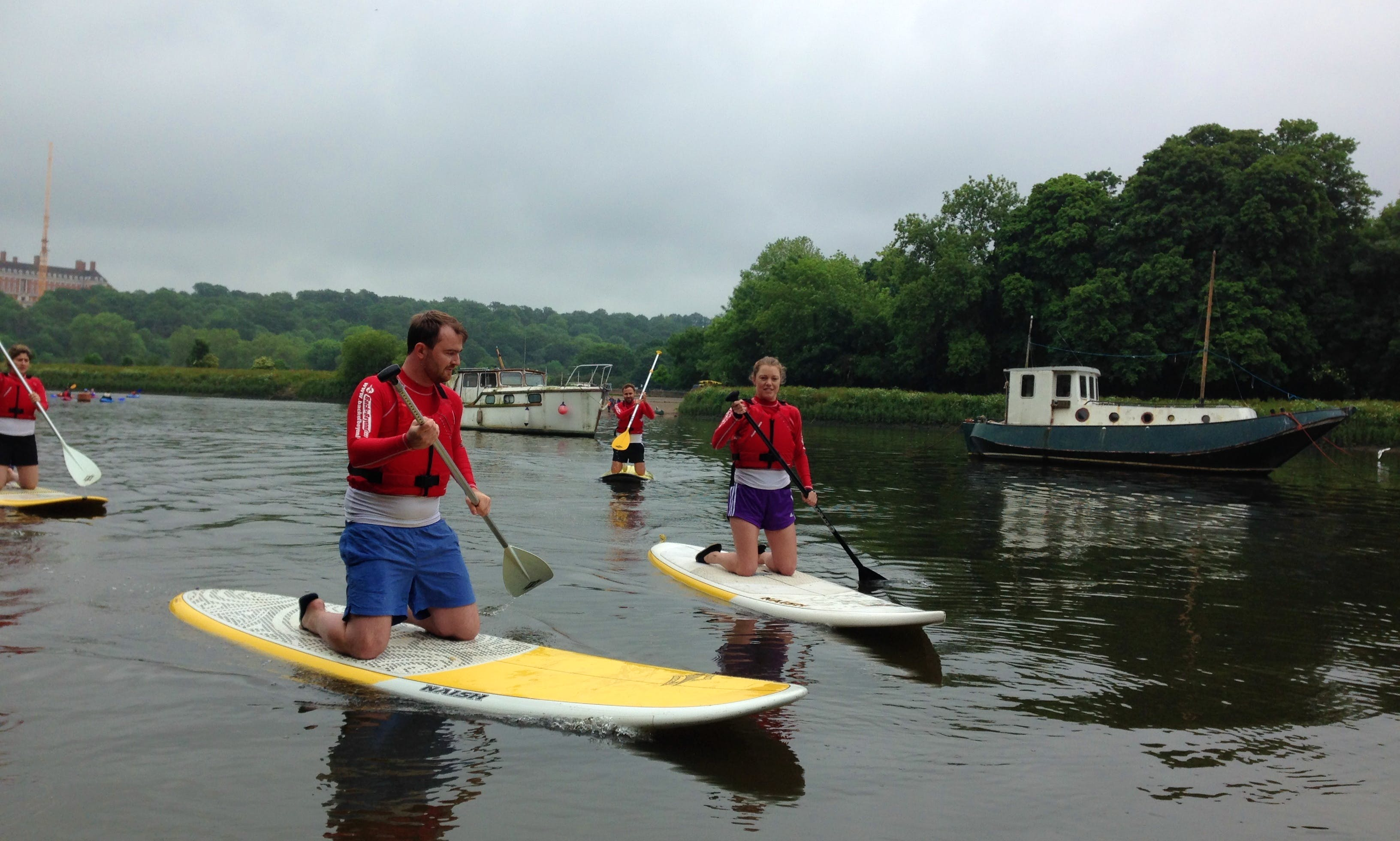 2-Hour Stand Up Paddleboard Lesson Group Session in Richmond