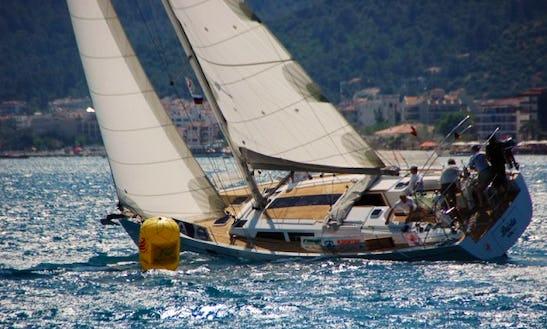 Sailing 'brista' Hanse 470e Charter In Marmaris