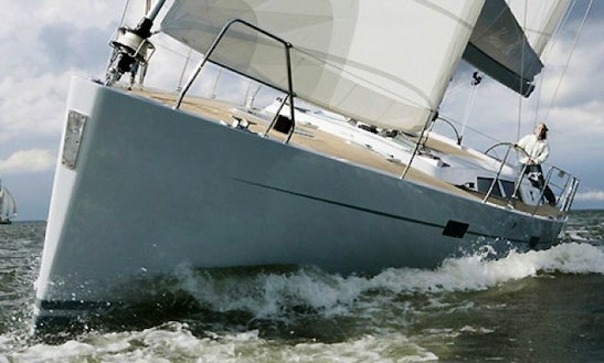 Charter A 47ft 'vanilla' Hanse 470e Sailboat In Fethiye, Turkey