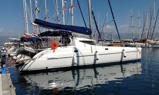 'goin Goin Gone' Athena 38 Charter In Fethiye