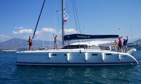 'kassiopeia' Nautitech 47 Charter In Marmaris