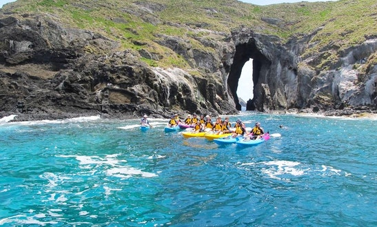 Ocean Kayaking Tour In Lord Howe Island