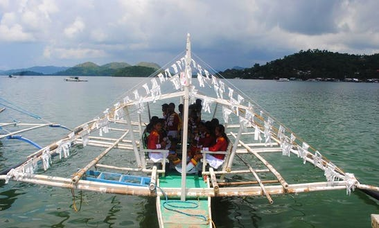 Row Boat In Coron