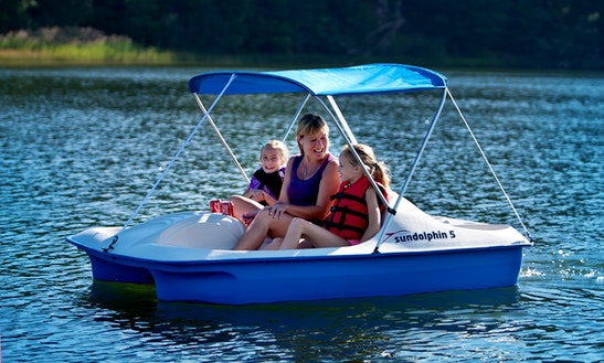 Paddle Boat Rental In Homosassa, Fl