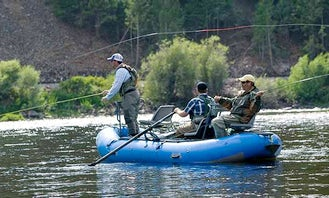 3 People Fishing Charter in Cotopaxi, Colorado