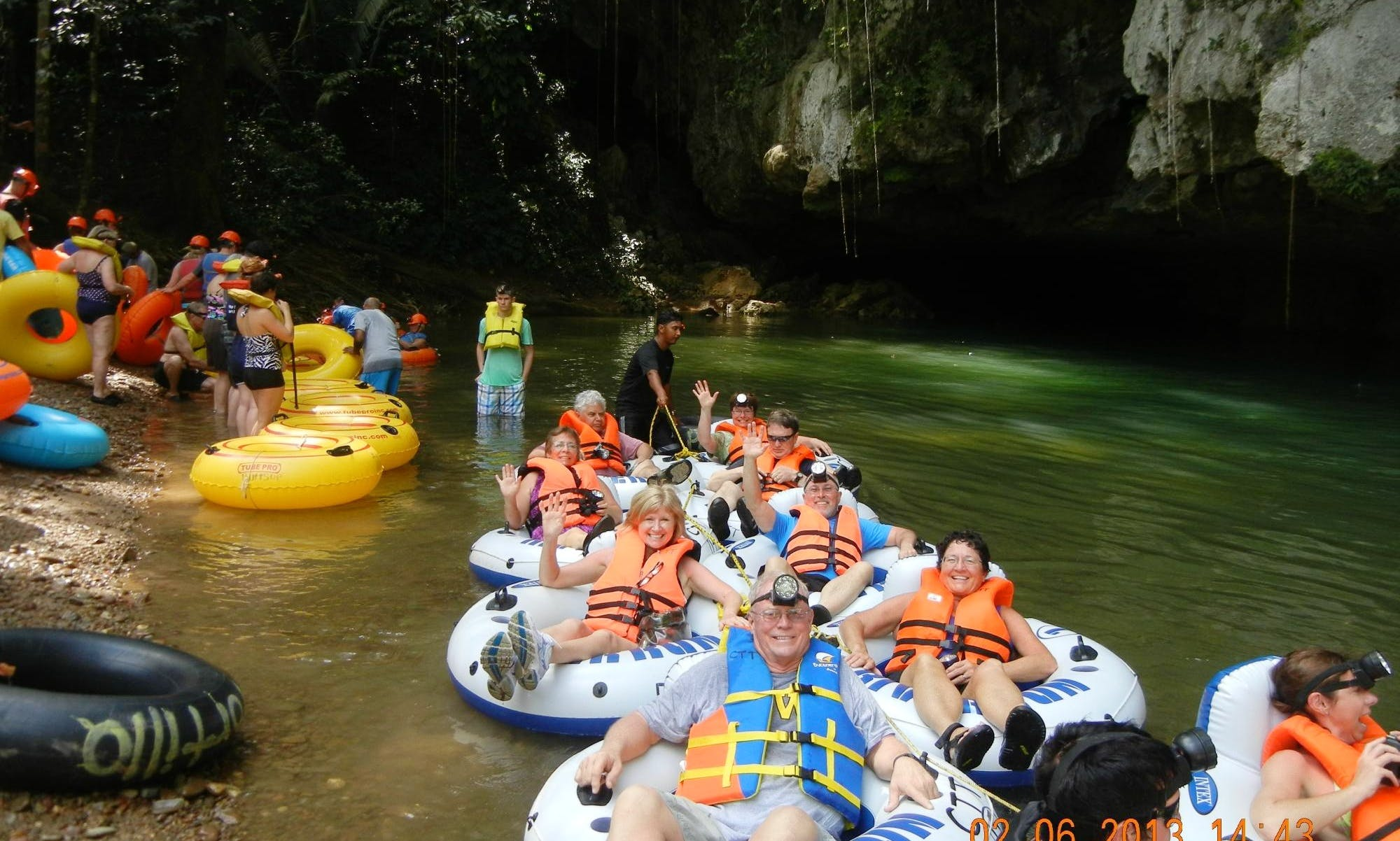 4 hours Cave Tubing Tours in Belize City, Belize
