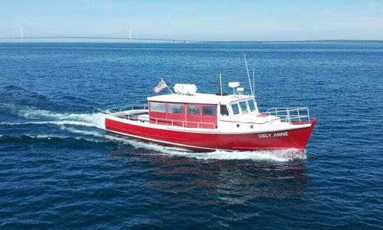 Private Cruise On 'ugly Anne' Trawler In Township, Michigan