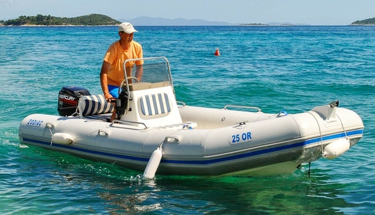 Rent A Fast Semi Rigid Inflatable Boat For  7 Person!