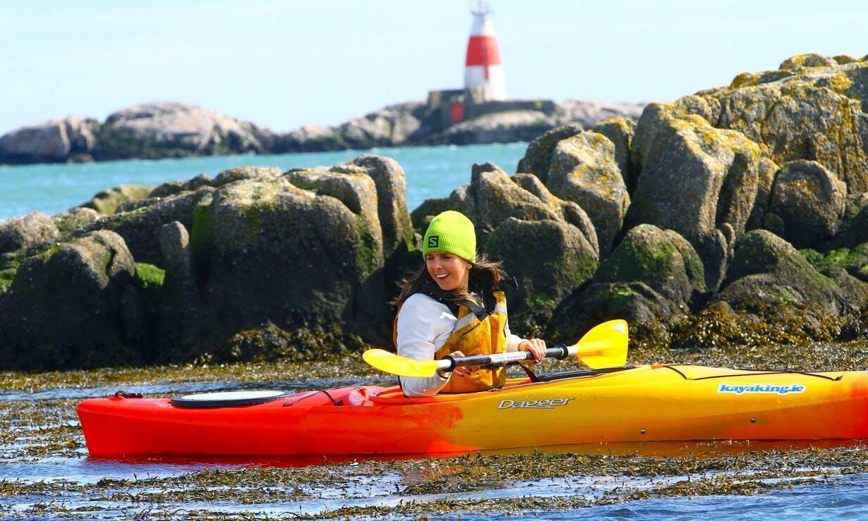Guided Kayak Trips and Beginner Kayaking Classes in Dublin, Ireland