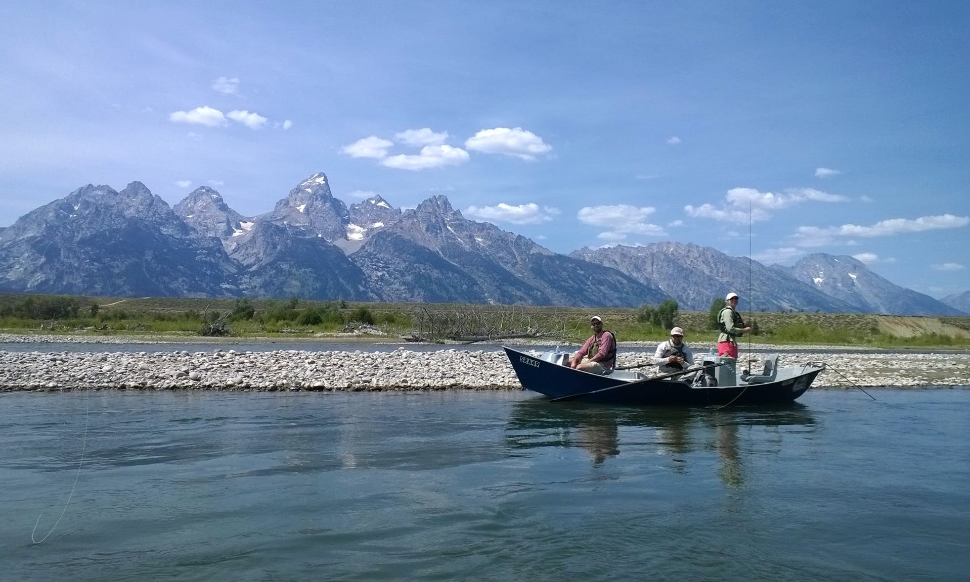 Guided Fishing Trip in Snake River Jackson, WY