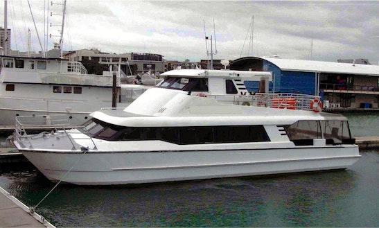 Catamaran Cruises On Auckland Harbour