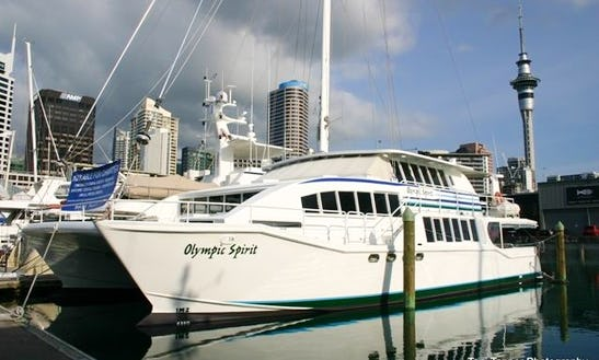 Hire Power Catamaran Yacht In Auckland