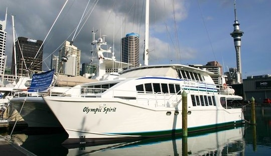 Hire Power Catamaran Yacht In Auckland