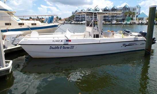 Enjoy 26' Seacat Fishing Charter In Marco Island, Florida