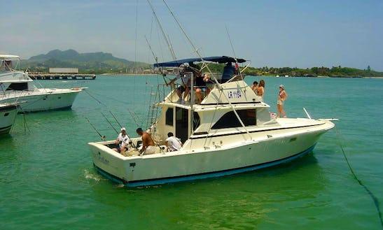 Fishing Charter On Sport Fisherman Yacht In Puerto Plata, Dominican Republic