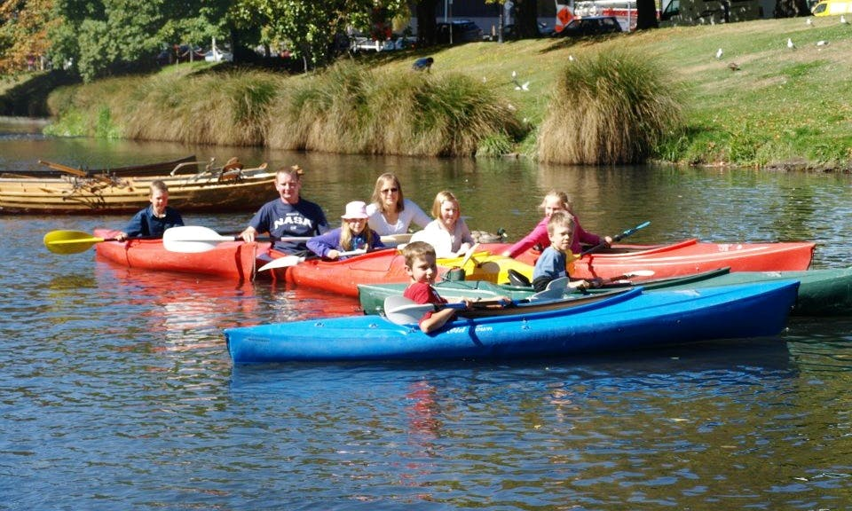 Double Kayak for Hire in Christchurch