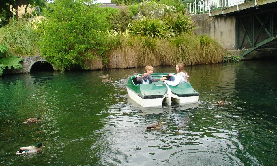 Enjoy An Exciting Paddle Boat Day in Christchurch, New Zealand