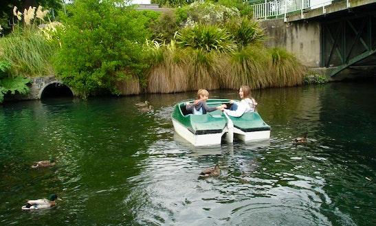 Paddle Boat For Hire In Christchurch