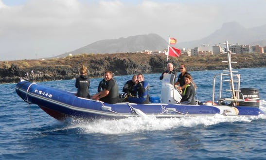 Rib Boat Diving Trips & Courses In Arona