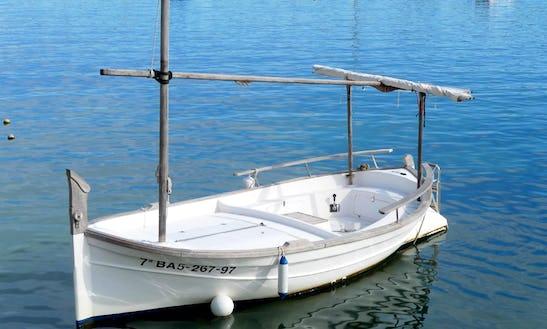16' Llaut Boat Charter In Cadaqués