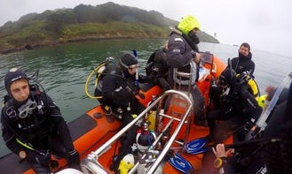 Scuba Diving Boat In Falmouth