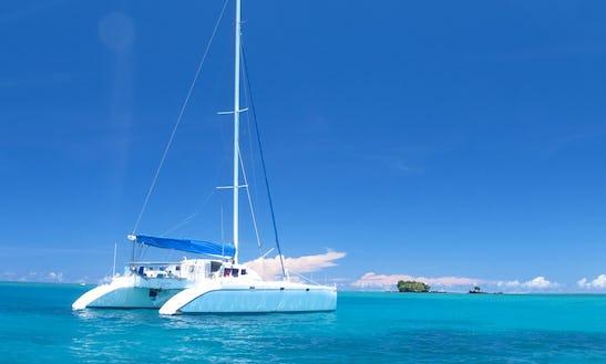 45' Luxury Yacht Charter In Fiji