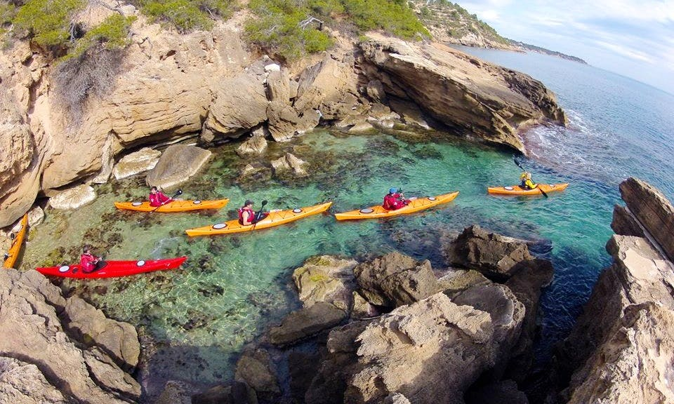 Kayak Excursions In Sitges