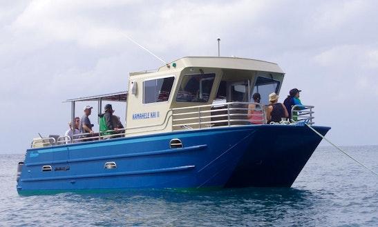 Snorkeling Trip Boat In Hanalei