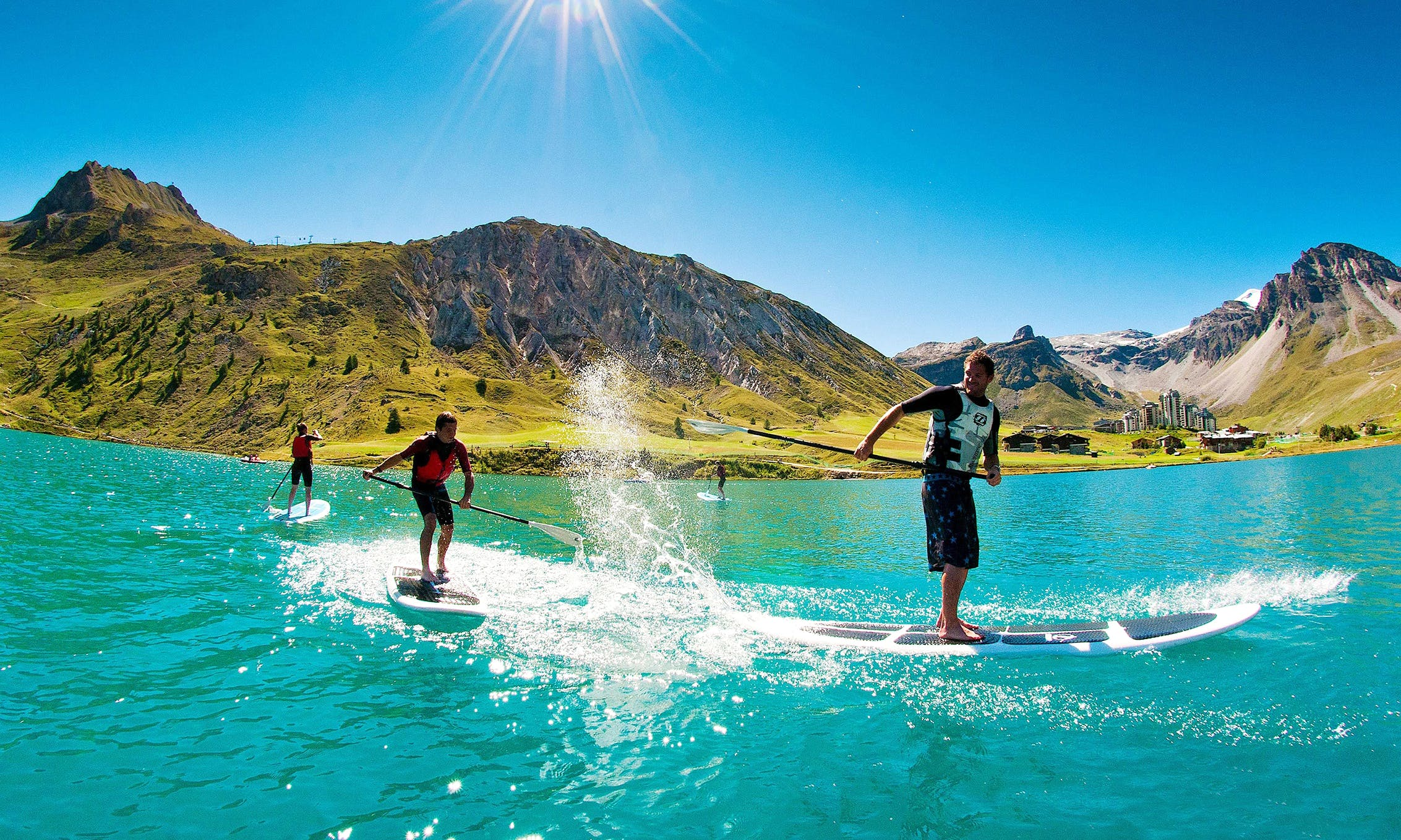 Stand Up Paddleboard Rental in Thury-Harcourt, France