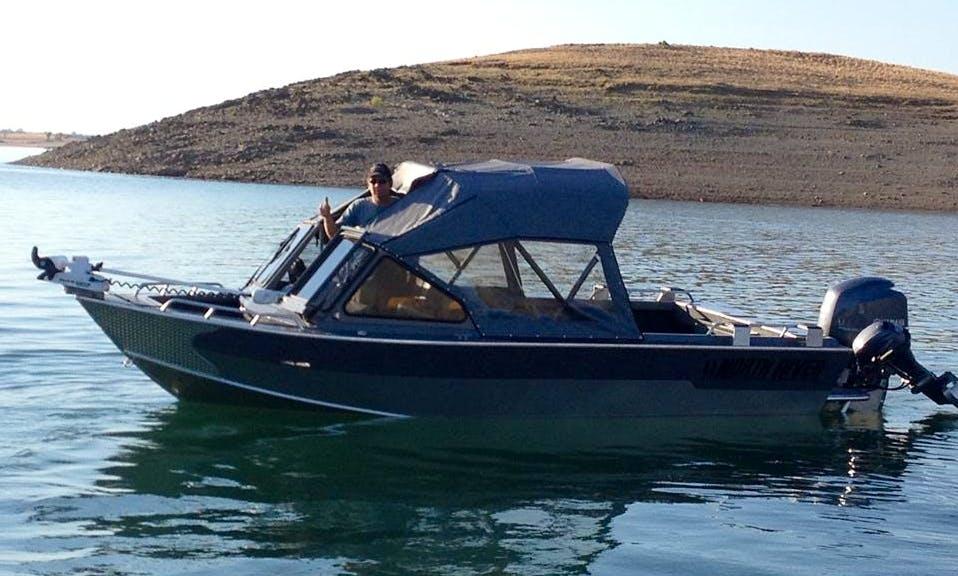 20' Seahawk Delta Fishing Charter in Garden Valley
