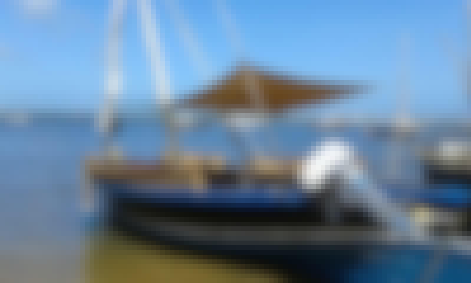 Sailing Dhow In Lamu