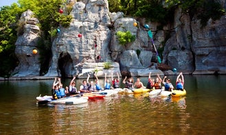 Single Kayak Rental in Thury-Harcourt, France